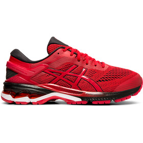 asics Gel-Kayano 26 Scarpe Uomo, speed red/black